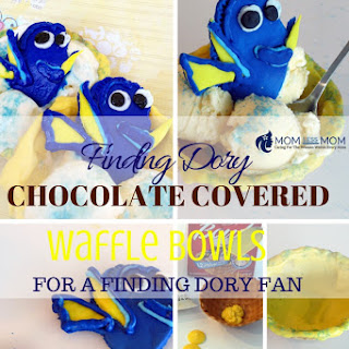 Finding Dory Chocolate Covered Waffle Bowl
