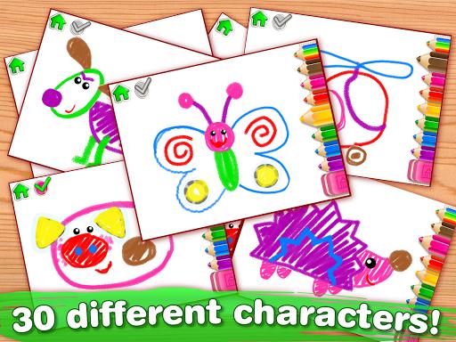 Children Coloring Games for kids! Preschool games 2.0.1.0 screenshots 10