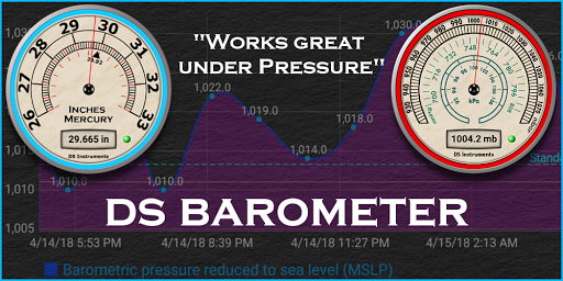 DS Barometer - Altimeter and Weather Information 3.75 screenshots 10