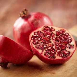 Homemade Pomegranate Vinegar.