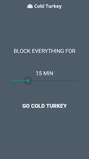 Cold Turkey- screenshot thumbnail