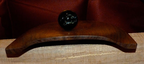 Photo: black walnut display tray