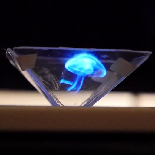 Vyomy 3D Hologram Projector (app)
