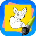 Super Coloring: Animals - for Kids and Family icon