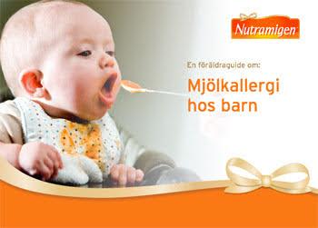 På Mead Johnsons hemsida kan du läsa mer om små barn och mjölkallergi.
