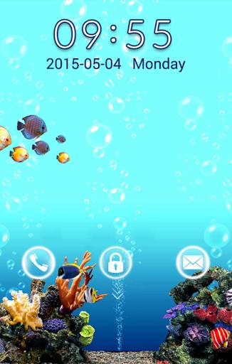 GO Locker Aquarium
