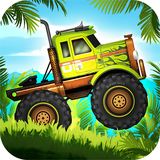 Jungle Monster Truck Adventure Race Icon