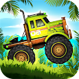 Jungle Monster Truck Adventure Race