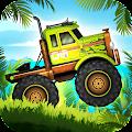 Jungle Monster Truck Adventure Race