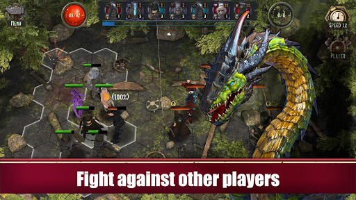 Azedeem: Heroes of Past. Tactical turn-based RPG. filehippodl screenshot 1