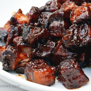 Pork Belly Burnt Ends AKA MIYM Bacon Cubes.