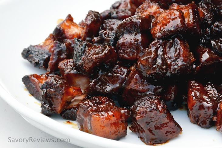 Pork Belly Burnt Ends AKA MIYM Bacon Cubes Recipe