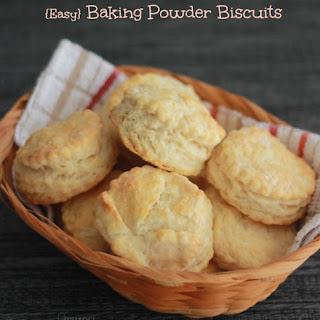 Easy Baking Powder Biscuits