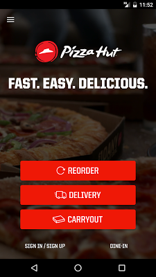Pizza Hut - screenshot