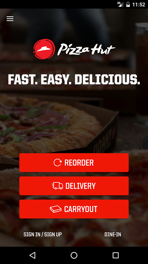 Pizza Hut- screenshot