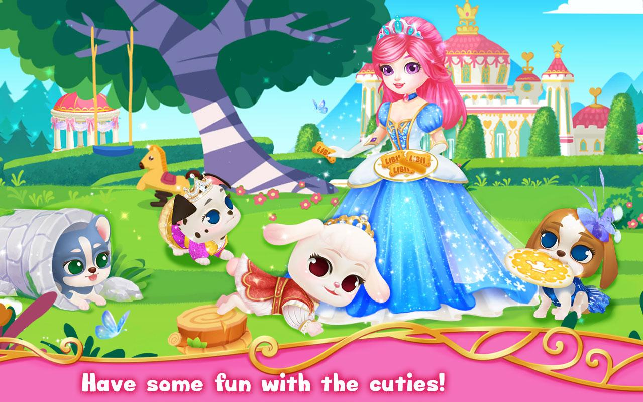 princess palace royal puppy android apps on google play