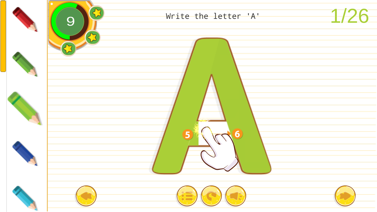 Learn To Write English ABC- screenshot