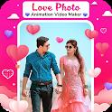 Love Photo Animation Video Maker : Photo Slideshow icon