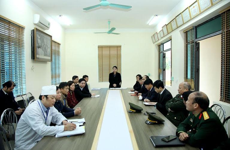Lãnh đạo tỉnh Vĩnh Phúc thường xuyên họp bàn phương án sau tại các cơ sở