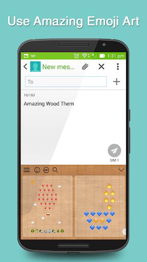 玩免費生活APP|下載Wood Keyboard Theme app不用錢|硬是要APP