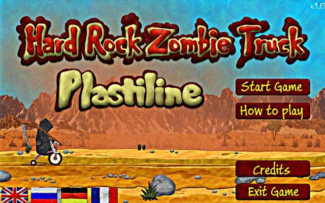 Hard Rock Zombie Truck Plastiline Game