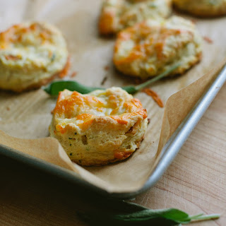Apple, Sage and Cheddar Biscuits