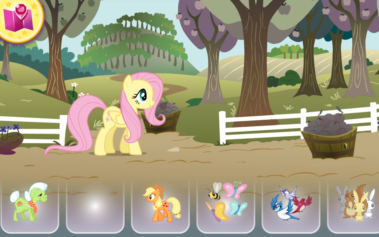 MLP Colouring Adventures- screenshot