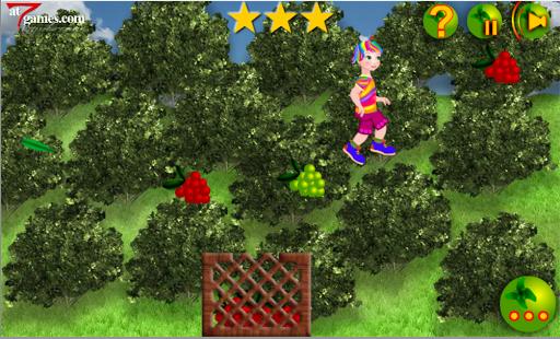 Rainbow Girl Collecting Fruits 1.0.1 screenshots 5