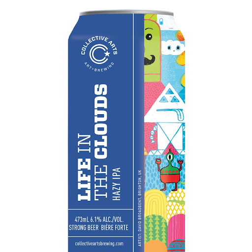 Collective Arts - Life in the Clouds 473 mL Can