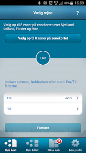 DOT Mobilpendlerkort- screenshot thumbnail