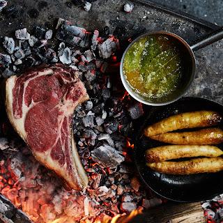 Ember-Grilled Steak with Bay Leaf Browned Butter