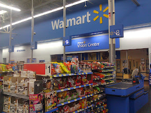 Photo: This shopping trip was on a Sunday evening, and the store wasn't crowded at all. This is one of our favorite times to shop at Walmart for just that reason. There was no line & no wait to check out.