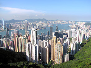 Photo: Hong Kong Island - view from the Victoria Peak