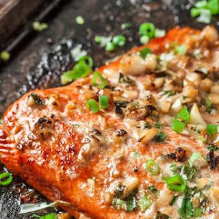 Asian Baked Salmon Recipe and Boston Marathon 2018.