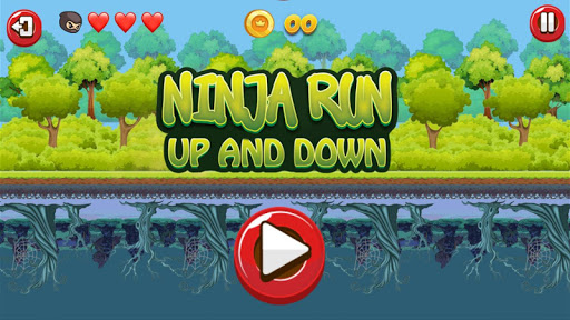 Ninja Run Up and Down apkmind screenshots 2