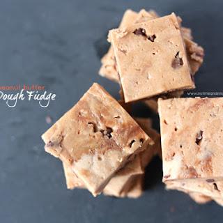 Nutella Peanut Butter Cookie Dough Fudge