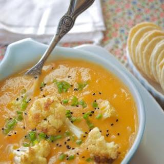 Sweet Potato Cauliflower Soup Recipes.