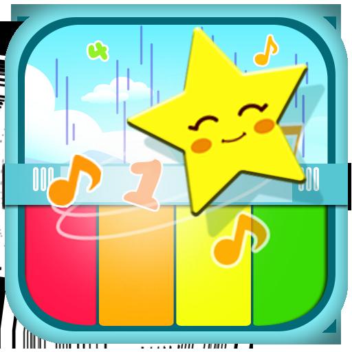 音乐のピアノのPropel(子供音楽) LOGO-記事Game