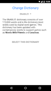 Word Helper for Scrabble- screenshot thumbnail