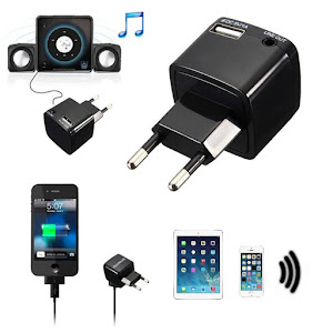 Receiver audio Bluetooth 220V, port USB