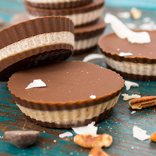 Chocolate Pecan Coconut Cups (#SundaySupper).