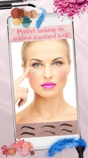 Obočí a Make-up Foto Editor - náhled