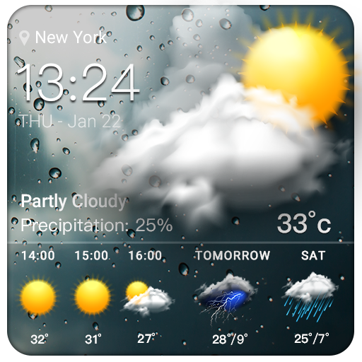 Temperature & Storm Tracker