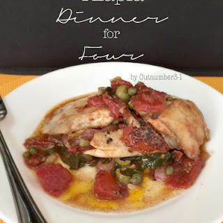 Tilapia Dinner for Four Recipe
