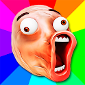 Troll Face Memes Stickers pack for WhatsApp icon