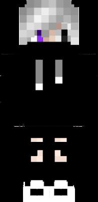 PURPLE, WHITE, RED & BLACK SKIN