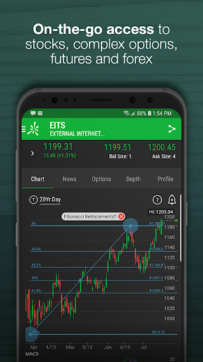 thinkorswim Mobile: Trade. Invest. Buy & Sell.  Paidproapk.com 1