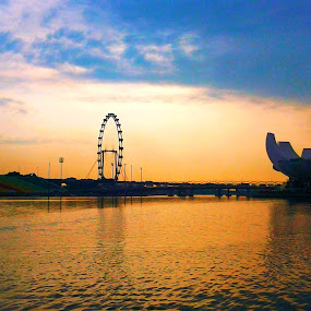 Eye of Singapore by Akiro Mahilom - Instagram & Mobile Android
