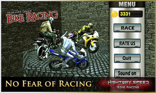 高速公路速度,摩托車賽車 - Moto Racing