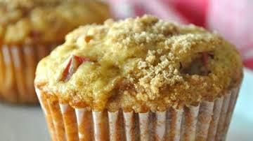 Aunt Norma's Rhubarb Muffins Recipe